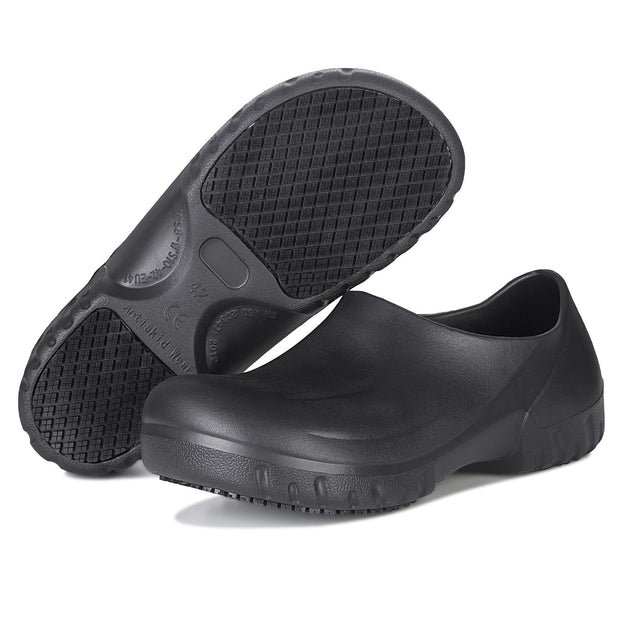138271 Mens Work Shoes Waterproof Slip Resistant Clog Nurse or Chef Shoes