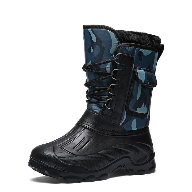 138476 Men's mountaineering snow boots