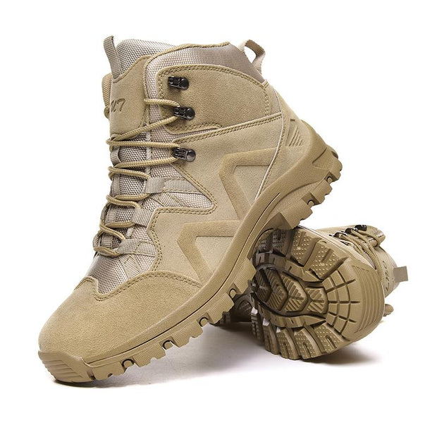 Men's outdoor climbing boots casual and comfortable walking shoes work boots