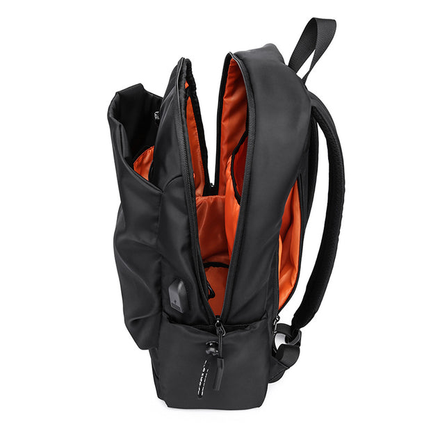 Men's schoolbag sports waterproof Travel Backpack outdoor high school student computer bag Oxford cloth backpack