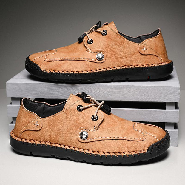 Men's comfortable retro casual shoe handmade leather shoes
