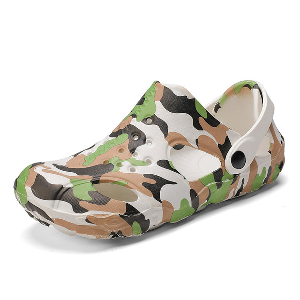 Men's casual breathable beach camouflage  shoes