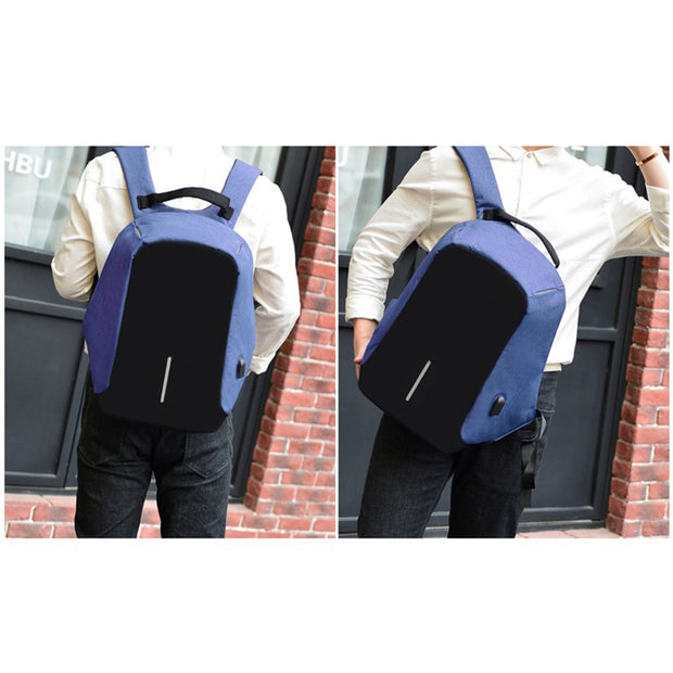 Men's computer backpack travel USB charging travel bag multifunctional anti-theft bag