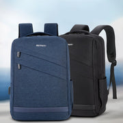 Men's waterproof Oxford cloth computer bag multifunctional leisure usb charging student backpack men