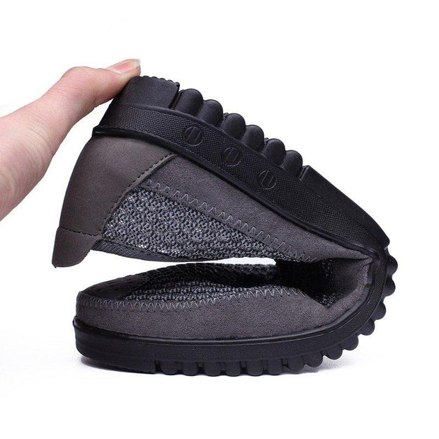 Men's Old Peking Styly Mesh Breathable Comfy Soft Slip On Casual Shoes