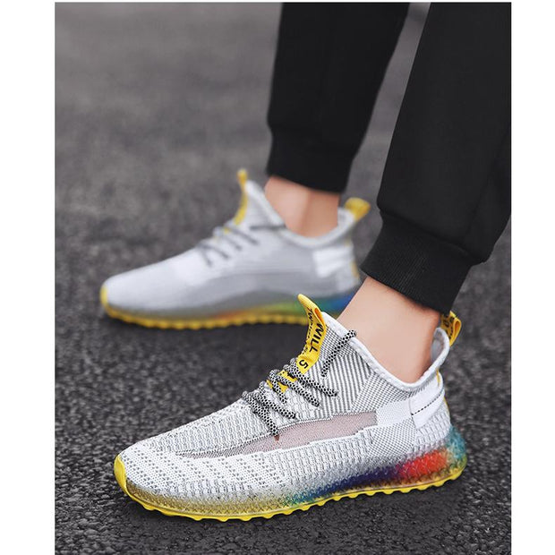 Men's shoes bottom tide shoes breathable sneakers