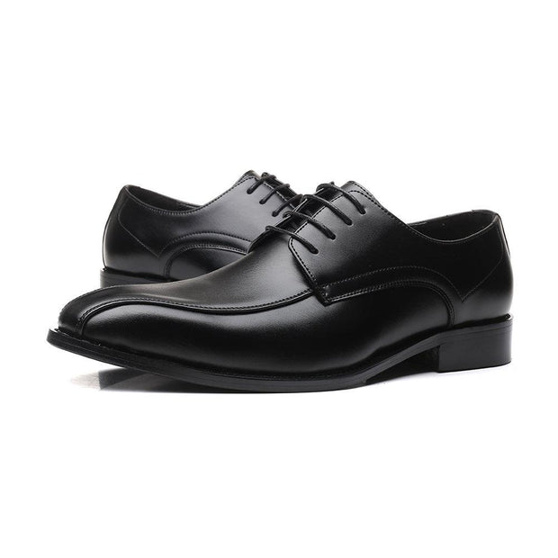 Men Stylish Microfiber Leather Lace Up BusinessFormal Dress Wedding Shoes