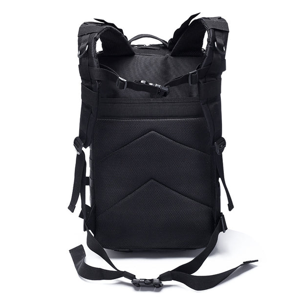 Men's outdoor sports large capacity backpack camping trekking tactical waterproof climbing multifunctional bag