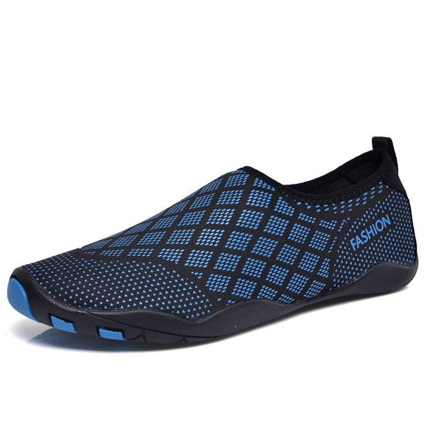 Men Quick Drying Snorkeling Diving Water Shoes Upstream Shoes Large Size