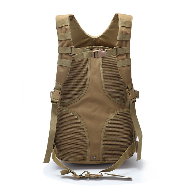 Men's Outdoor Large Capacity Backpack Multifunctional Expansion Mountaineering Bag Large Tactical Camping Backpack