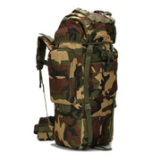 Men's Outdoor Backpack Large Capacity 65L Large Bag Equipment Outdoor Professional Hiking Backpack Backpack