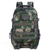 Men's outdoor camouflage backpack waterproof nylon multifunctional sports tactical backpack