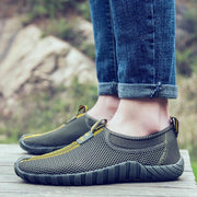 Men's Mesh Fabric Slip-on Casual Shoes Ultra Light Breathable