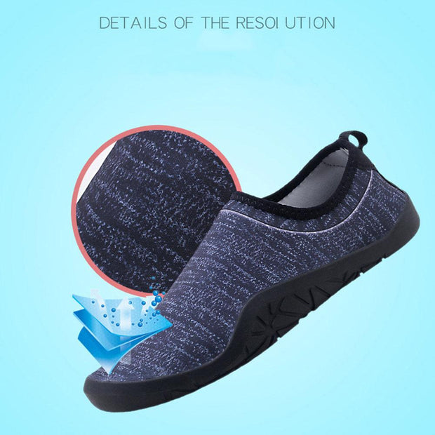 Man's beach snorkeling shoes diving shoes swimming shoes