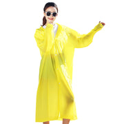 Sports Rain Coats EVA Reusable Rain Ponchos Raincoats with Hood