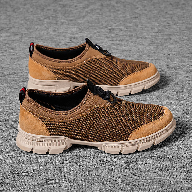 Men's Breathable Mesh Outdoor water resistant Sport Casual Shoes