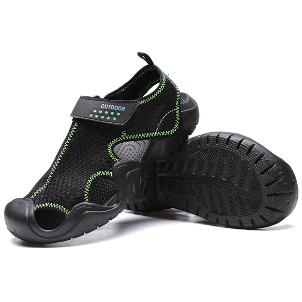 Men's Breathable Mesh water resistant Outdoor Sport Casual Shoes