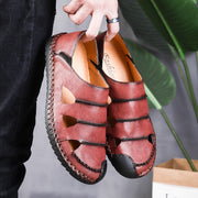 Men's Daily Genuine Leather Casual Shoes Sandals