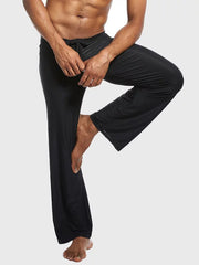 Men's plain casual loose yoga Pants