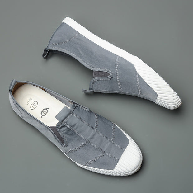 Men's Fashion Canvas Vulcanized Cloth Lazy Shoes
