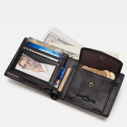 Men's Bifold Genuine Leather Classic Wallet