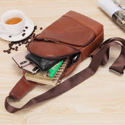 Real Leather Multifunctional Vintage Sling Bag
