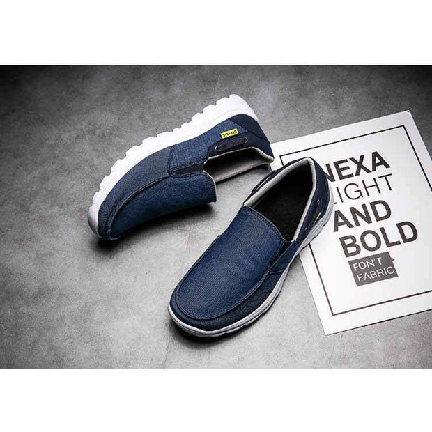 Men's Canvas Comfortable Casual Fashion Flat Breathable Shoes