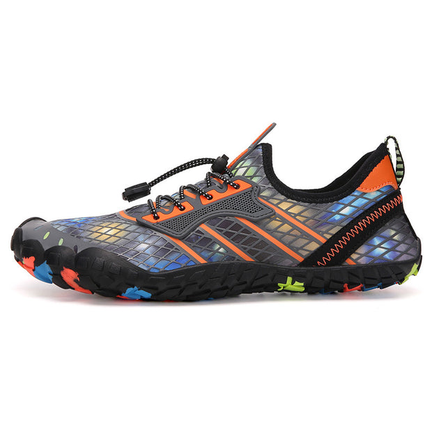 Men's casual beach swimming mesh hiking shoes water shoes