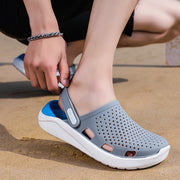 Men's fashion outer wear semi-outdoor slippers sandals