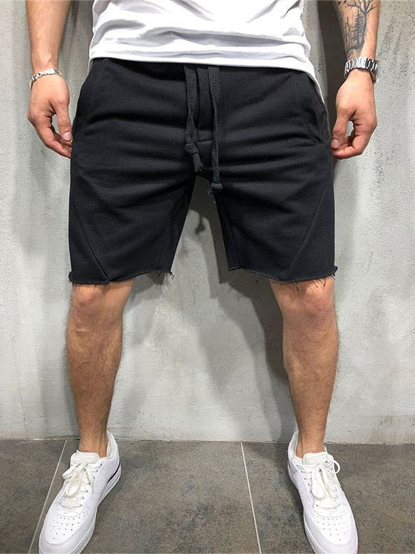 Men's Cotton loose Sweatpants Fitness Workout Short