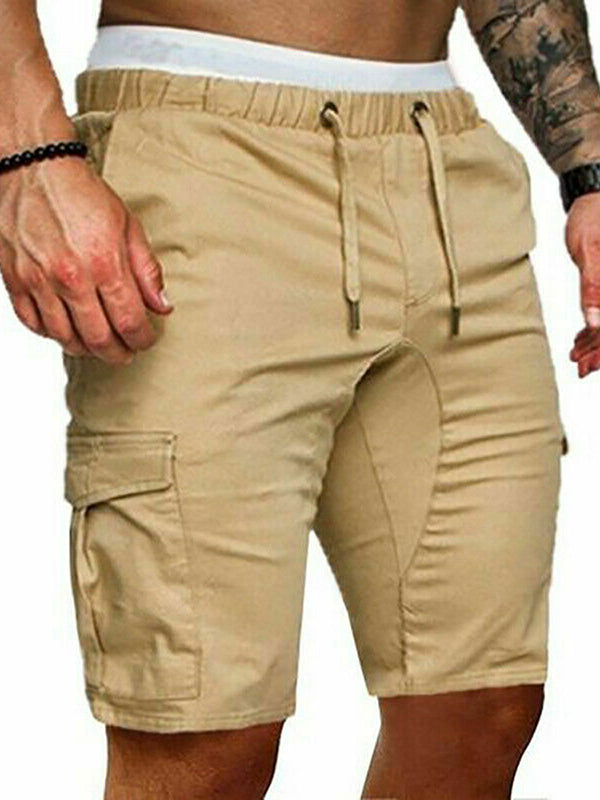 Men's Hip Hop Streetwear Casual Fitness Trunk Gym Running Short