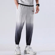 Men's Casual Sweatpants Street Trend Printing Drawstring Hip Hop Ankle-Length Pant