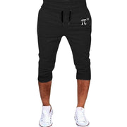 Men's Sports Running Hip Hop Trousers Casual Cropped Cargo Pants