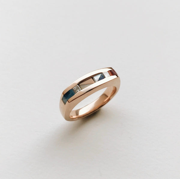 Oneida Ring / Squared