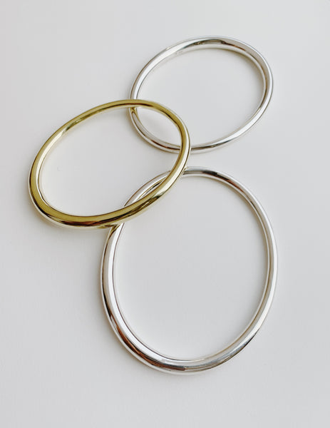 Simple Tapered Bangle