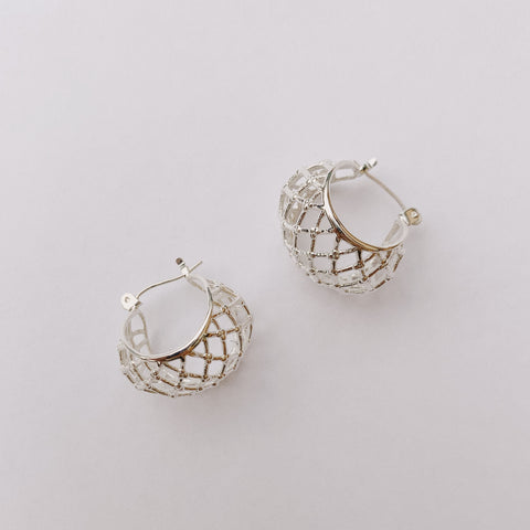 READY TO SHIP ~ Netted Hoops