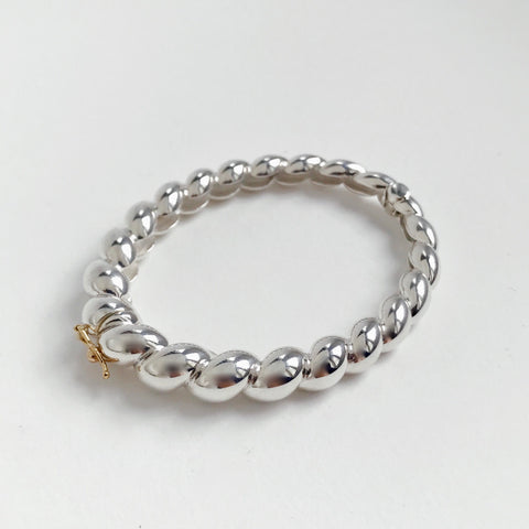 Hinged Tapered Rope Bracelet