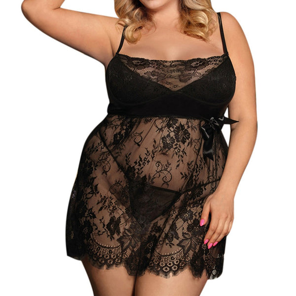 Lace Babydoll Nightdress