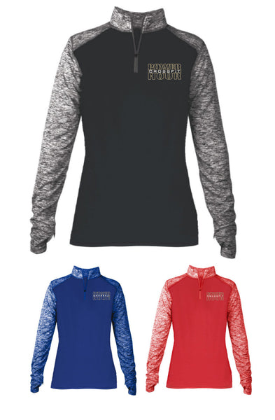 CF PowerHour Ladies 1/4 Zip