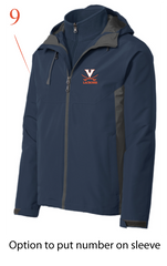 UVa Lax Unisex Merge 3-in-1 Jacket