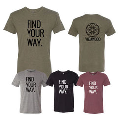 GB-Find your Way Tri-Blend Tee