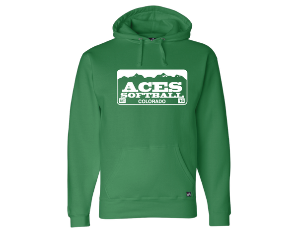 Colorado Aces Hooded Sweatshirt- Licence Plate