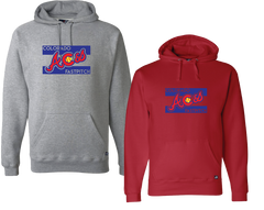 Colorado Aces Hooded Sweatshirt - Aces logo
