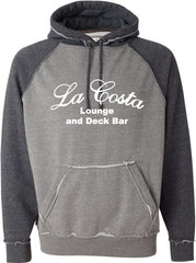 La Costa Vintage Heather Hooded Sweatshirt