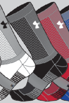 Concord Volleyball UA Team Crew Socks