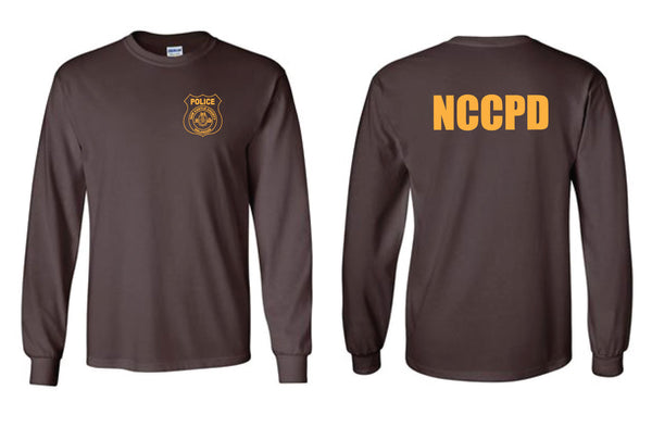 NCCPD Long Sleeve Tee