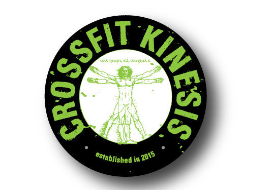 CF Kinesis Circle Car Decal