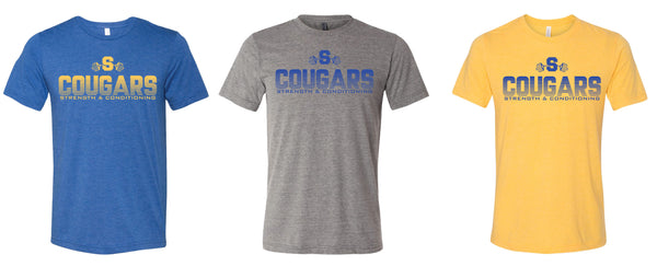 Springfield Cougars Strength & Conditioning Tee