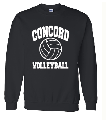 Concord Volleyball Crew Sweatshirt