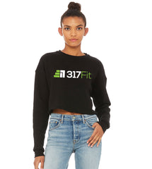 317 Cropped CrewNeck Sweatshirt